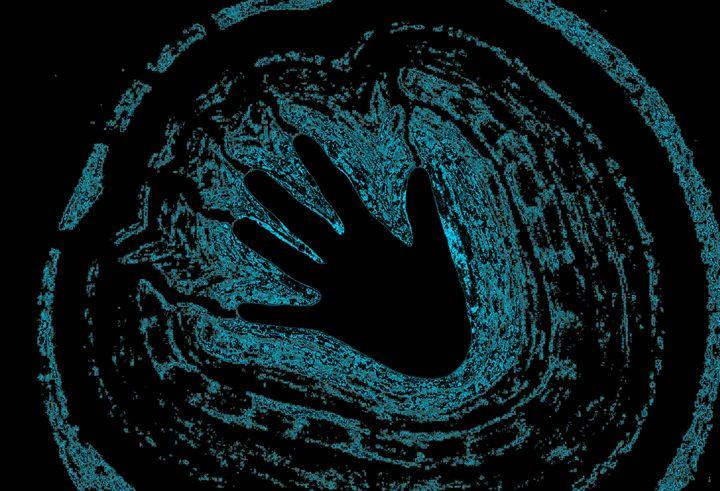 Electric Aura In Light Blue 3 - Sherrie D. Larch