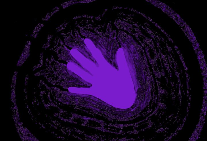 Electric Aura In Purple 2 - Sherrie D. Larch