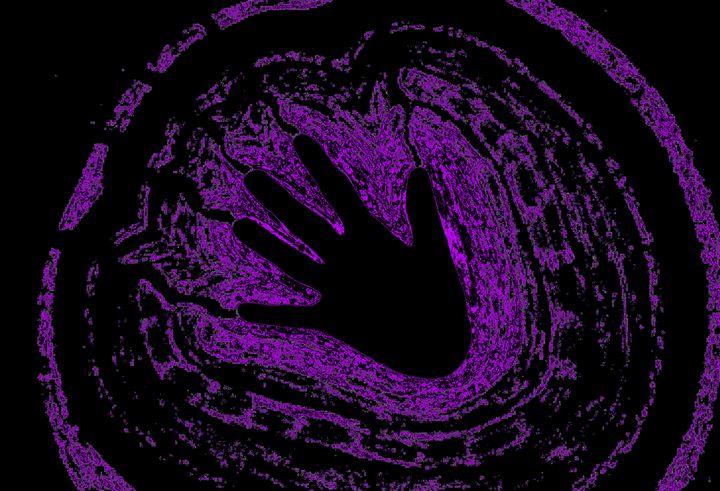 Electric Aura In Purple 3 - Sherrie D. Larch