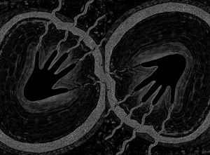 Electric Aura In Black and White 2 - Sherrie D. Larch