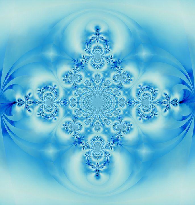 Sky Blue Scarab 4 - Sherrie D. Larch
