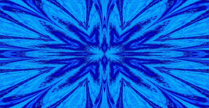 A Blue Wildflower 4 - Sherrie D. Larch