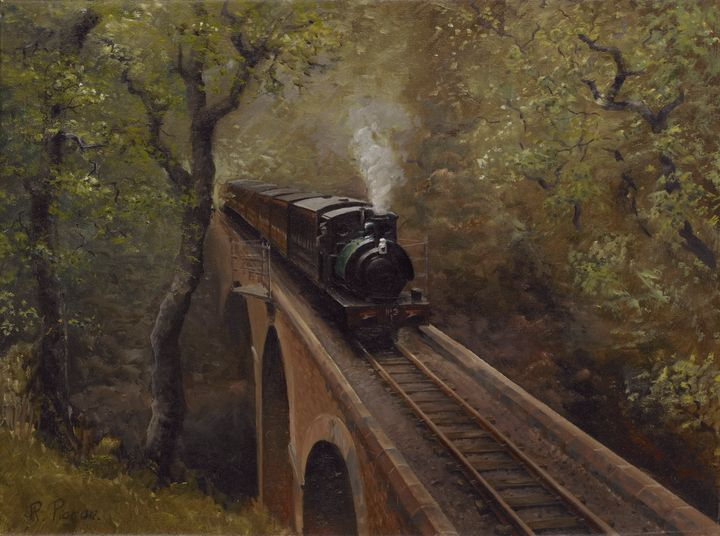 Dolgoch Viaduct - Pictonart