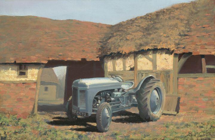 Tractor & Barn - Pictonart