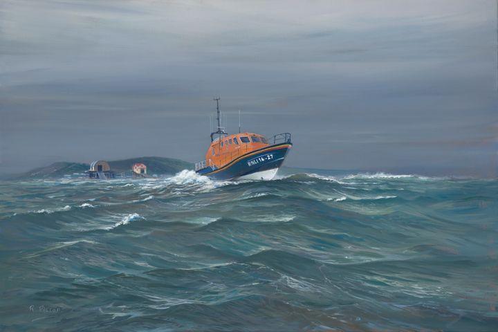 Mumbles Life Boat - Pictonart