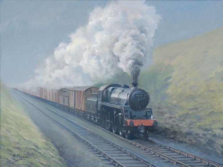 British Railways Class4 Freight - Pictonart
