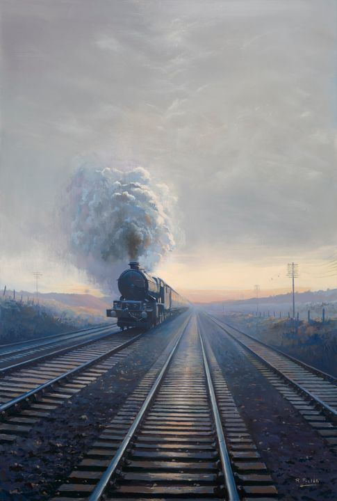 King Class at Purley - Pictonart