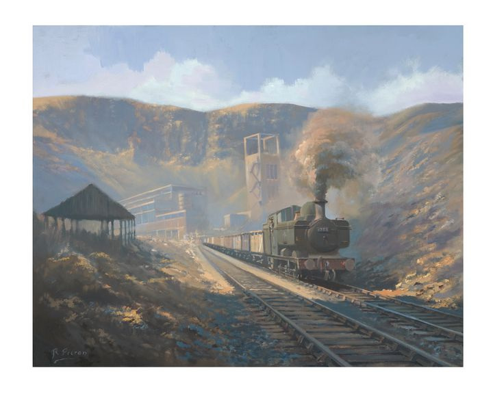 Bwllfa Dare Colliery - Pictonart