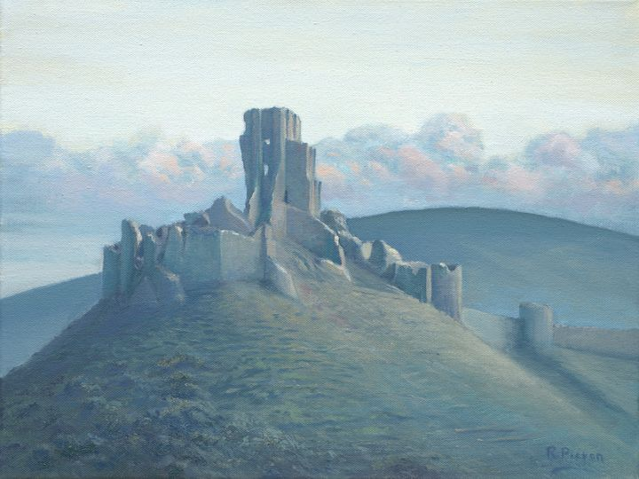 Corfe Castle - Pictonart