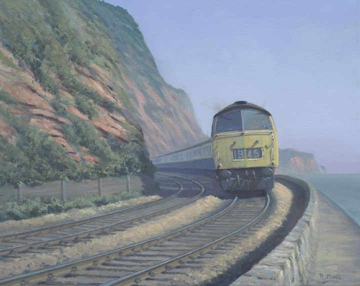 Western at Dawlish. - Pictonart