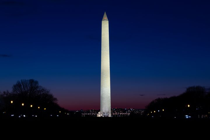 Washington Monument At Dusk - Josh Blair