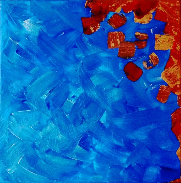 Fire and Ice - Landrum Canvas