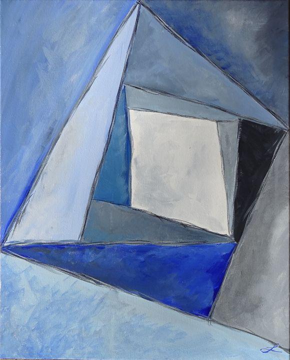 Blue - Landrum Canvas