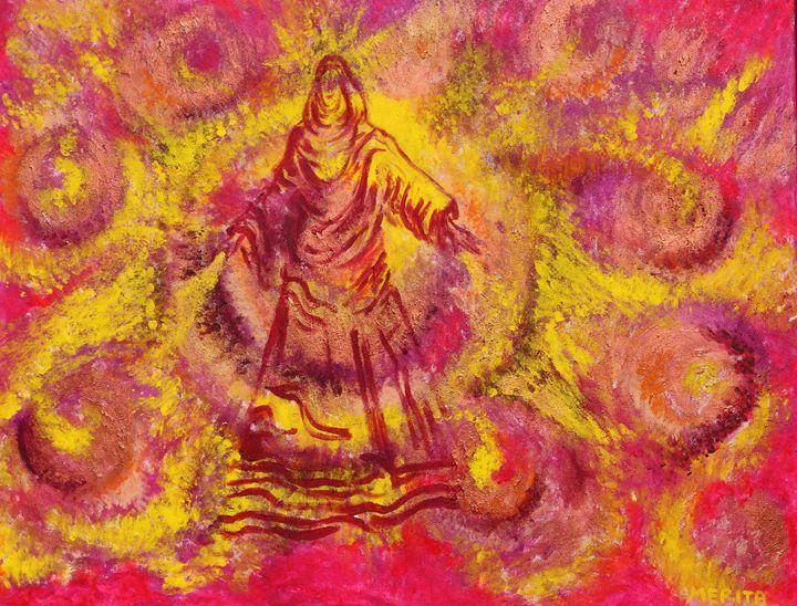 Mother Mary - Rose Liz Soul Art