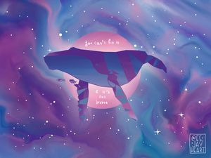 self-acceptance and compassion whale