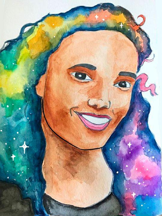 Charlie / Amaya Galaxy - eejayheart | EJ Huston Art