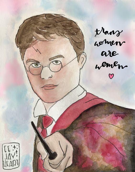 Harry Potter | Trans Women Are Women - eejayheart | EJ Huston Art