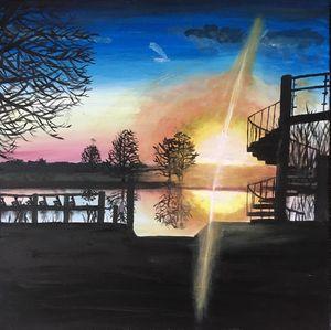 sunrises at the river