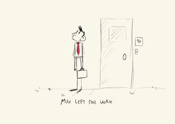 Max Going to Work - Sam Appru