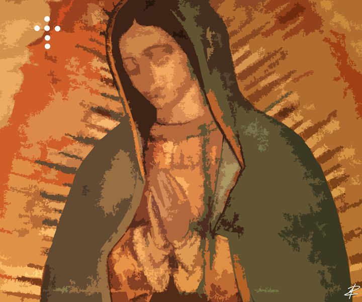 Lady of Guadalupe by Jesse Raudales - Jesse Raudales