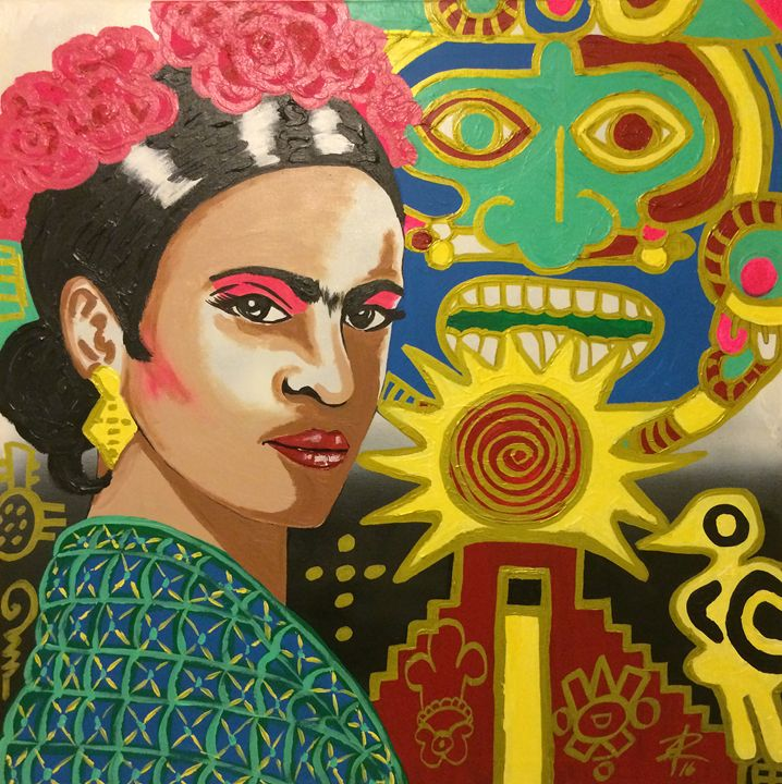Frida by Jesse Raudales - Jesse Raudales