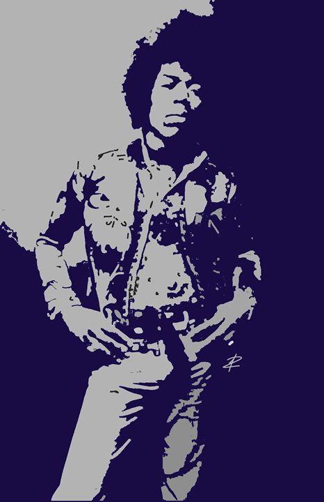 Hendrix by Jesse Raudales - Jesse Raudales