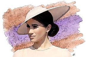 Duchess of Sussex by Jesse Raudales