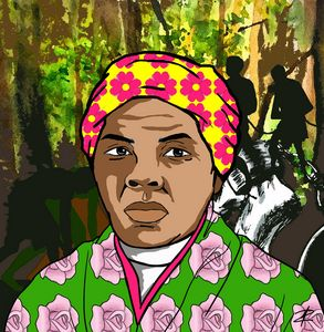 Harriet Tubman by Jesse Raudales