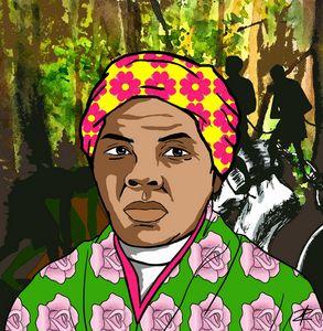 Harriet Tubman by Jesse Raudales