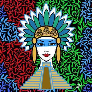 Mayan Princess by Jesse Raudales