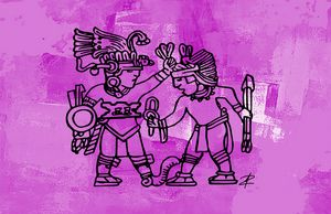 Aztec Warriors and Legends by Jesse