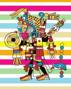 Mayan Aztec Inca by Jesse Raudales