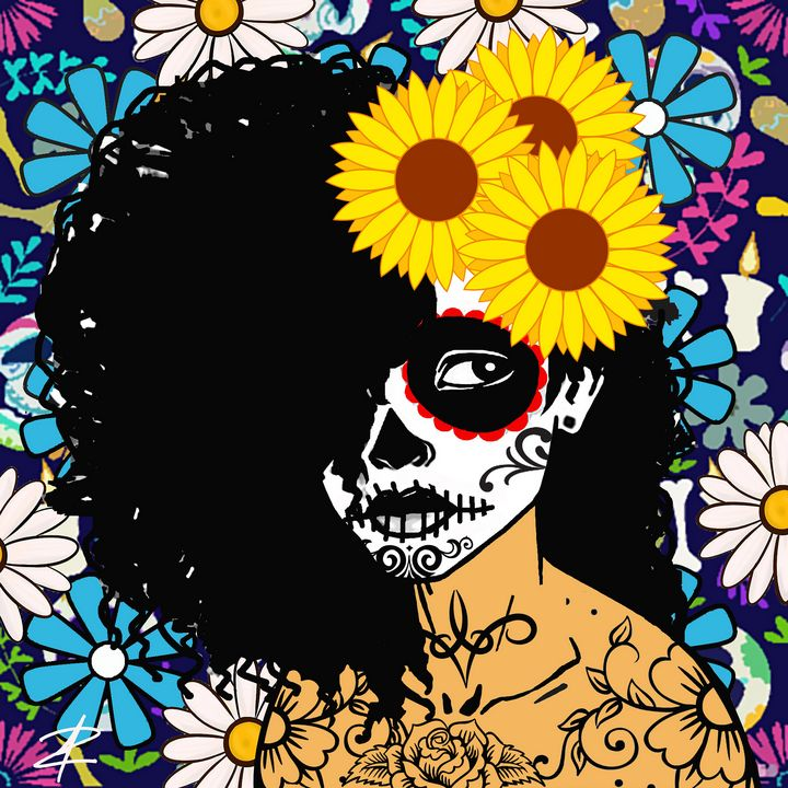 Aztec Princess by Jesse Raudales - Jesse Raudales