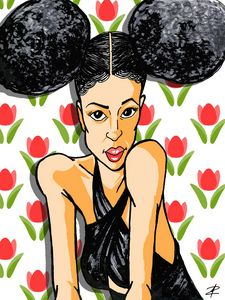 Ciara caricature drawing