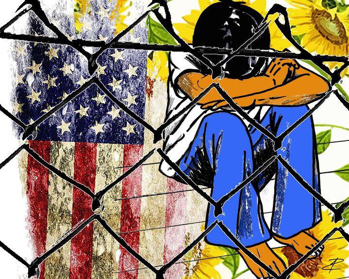 Kids In Cages by Jesse Raudales - Jesse Raudales