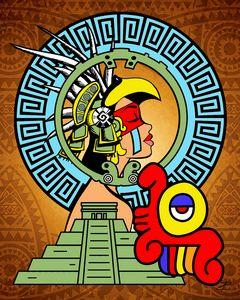 Aztec Princess by Jesse Raudales