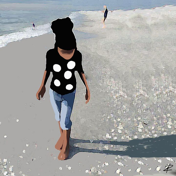 Kelis a Day at the Beach - Jesse Raudales