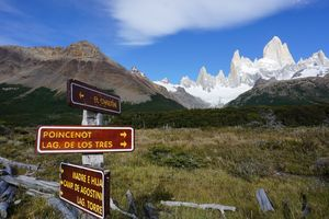 Path to Mt. Fitz Roy