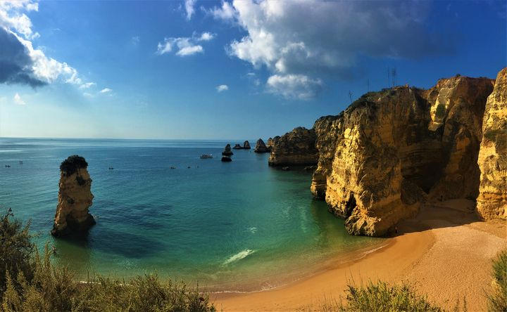 Algarve Cliffs - R.Gourley