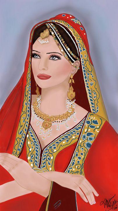 """""""A Persian Princess"""" - Elegant Designs"""