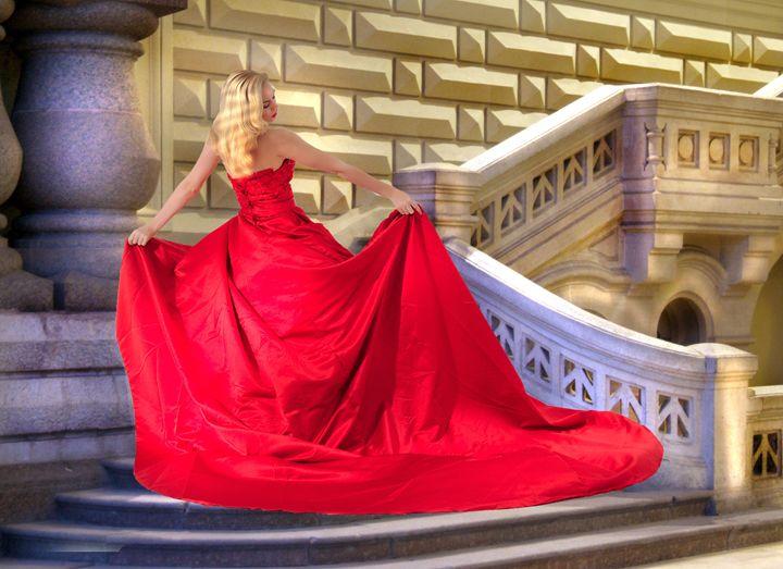 A garota na escadaria - Paulo Brambilla