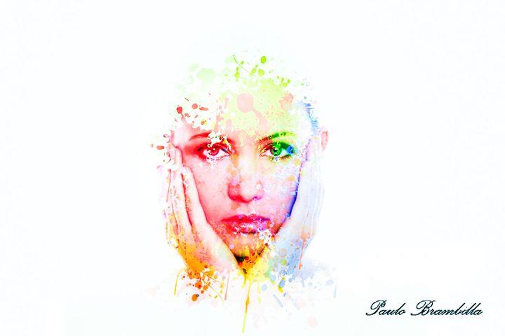 A garota splash - Paulo Brambilla