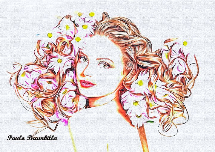 Cheia de charme e de flores - Paulo Brambilla