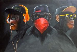 Three Wise Swags - Smitholas Art