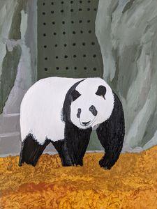 panda bear - PaintStopByNandini