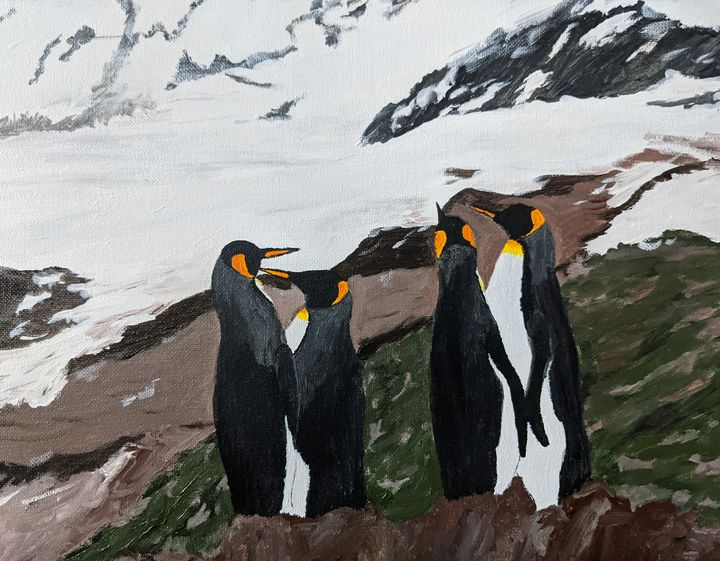 Penguins day out - PaintStopByNandini