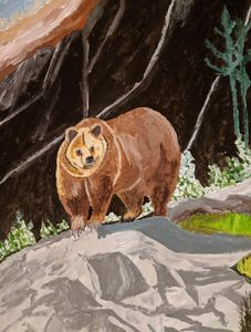 Bear - PaintStopByNandini