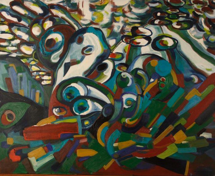 Abstract Landscape - MeganMorganHulme.com