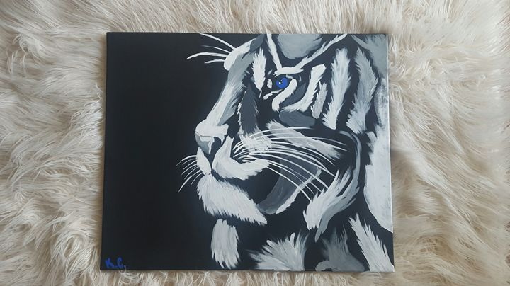 Eye of the Tiger - K.C. Art