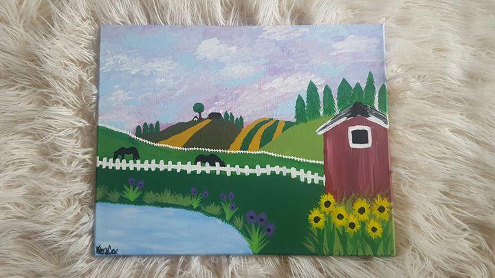 Summer Ranch - K.C. Art